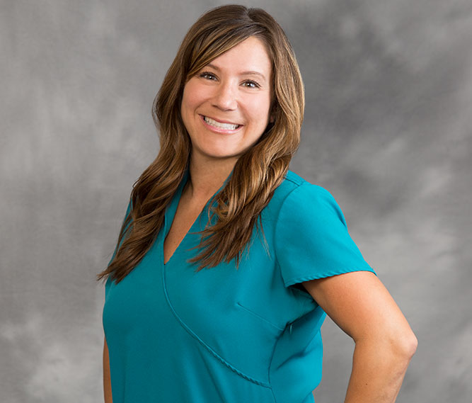 patient service coordinator Kristin Maddox staff member of Muscaro and Martini Dentistry in Tampa FL