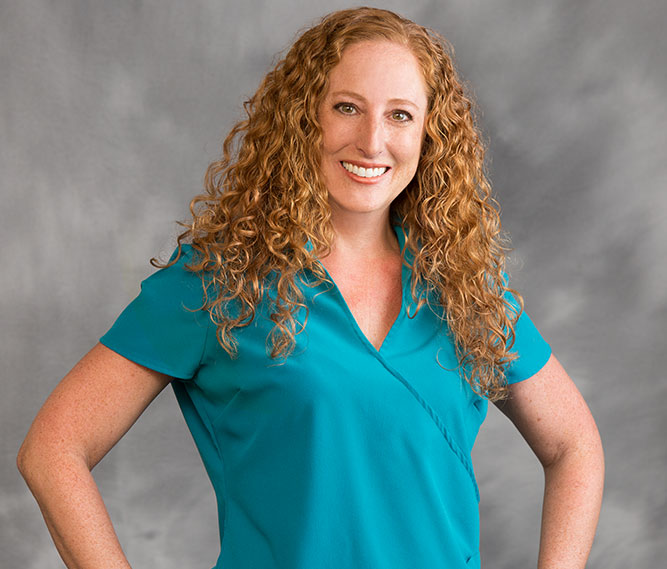 hygienist staff member Michelle Mancini of Muscaro and Martini Dentistry in Tampa FL