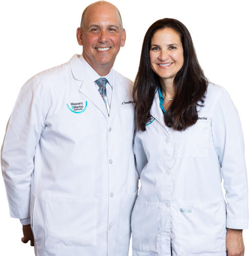 image of Dr. Martini and Dr Muscaro